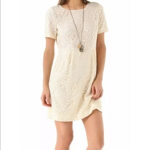 Madewell Broadway & Broome Serenade lace dress 0